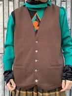 (TOYO) design wool vest