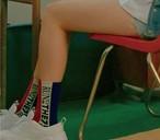 サイドレタリングソックス ソックス 靴下 韓国ファッション