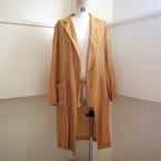 【hippiness】cupro coat(151gold) /【ヒッピネス】キュプラコート(151ゴールド)