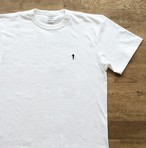 【ラスト1】Marter シルエット Tシャツ(ワンポイント刺繍)