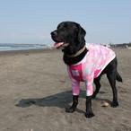 【夏本番!】湘南レトリバーオリジナルALOHAシャツ!(ピンク)