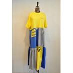 【RehersalL】Tshirt tiered onepiece(49) /【リハーズオール】Tシャツティアードワンピース(49)