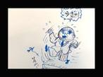 漫画ドローイング『うぎゃ!』B6