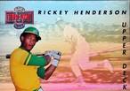 MLBカード 93UPPERDECK Ricky Henderson #TN3 ATHLETICS
