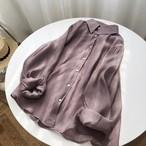 シースルーロングシャツ【TP000117】