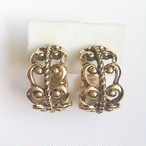 """AVON"" French Filligree earring or pierce[e-1036]"