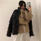 2点セット デニムジャケット スウェード素材 ボア ジャケット【0914】
