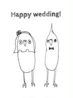 結婚式プレゼント用ポストカード