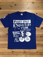 CROWD35ツアーTシャツ・限定カラー・青