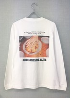 """A LITTLE TOO SERIOUS"" SUB CULTURE ELITE long-sleeve tee"