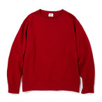 "【6月3日正午までの特別価格】Just Right ""Those Days Crew Neck"" KOP Red"