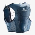 Salomon サロモン Unisex ユニセックス ACTIVE SKIN 8 SET アクティブ スキン 8 セット Copen Blue/DARK DENIM(コペンブルー/ダークデニム) LC1303900【ザック】【ランニングパック】【トレイルランニング】