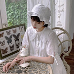 ガーリー♡ロマンティックホワイトワンピース B0279