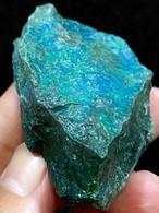 11) クリソコラ原石