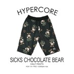 B-119 SICKS CHOCOLATE BEARハーフパンツ