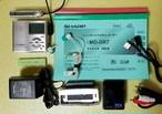 MDポータブルレコーダー SHARP MD-DR7-S 1BitMD MDLP対応 美品・ 完動品