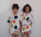 arkakama アルカカマ COTTON SPDX WIDE Tee PARTYPARTY size:XL(8-9Y)