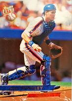 MLBカード 93FLEER Todd Hundley #075 METS