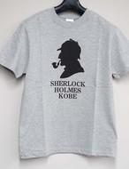 Tシャツ SHERLOCK HOLMES グレー