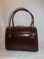牛皮ビィンテージバック brown cowhide vintage bag (made in Japan)
