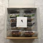 ブラウニー12個入り ☆クリスマスパッケージ☆