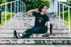 كرة القدم Rose T-shirts 薔薇 Tシャツ