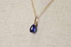 美しすぎる青のきらめきネックレス(カイヤナイト)/K14GF