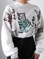 80's cat sweat