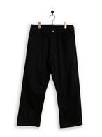 Cotton Twill Frisco Pants/ black