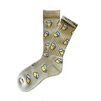 """Beer -pistachio-"" Socks (limited edition by EAZY MISS)"