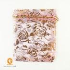 選べる5柄10枚セット オーガンジーのミニ巾着袋 アソート 9×12cm