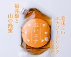【1個】美味しいエナジードリンク研究所。福井梅と福井山の蜂蜜入り。