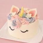【ユニコーンケーキ】バースデーケーキやスマッシュケーキに人気!