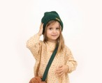 """TINYCOTTONS タイニーコットンズ """"TINY"""" BEANIE color:green size:baby-one size (41-43cm)"""
