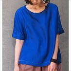 【hippiness】cupro wide Tshirt/【ヒッピネス】キュプラ ワイド Tシャツ