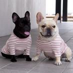 【発売前告知】9月20日(木)21時〜発売開始 バスクボーダーラグランTシャツ☆オフ白×ピンク