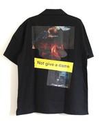 #11LONELY論理 MAJI KYOUMI NE 開襟シャツ