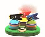 【端午】虹色鯉のぼり