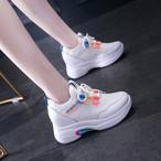 【shoes】スポーツ履き心地抜群お流行り厚底スニーカー 23161792