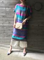 Vintage desiner's silk dress ( ヴィンテージ デザイナーズ シルク ワンピース ).