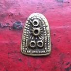 チベットの護符トクチャ 太陽と月