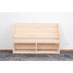 木製ハンドメイド絵本棚★安定感+超収納力の「W91cm LX」