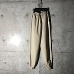 [used] cream transformed pants