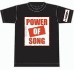 Tシャツ POWER OF SONG