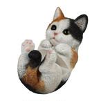スマホスタンド 寝転びタイプ 三毛猫