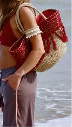 ◆Mon ange Louise◆ BAG CROCHET かごバッグ