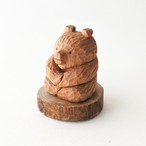 木彫りの熊/おすわり熊 A