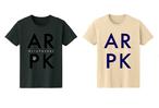 カルパカクラインTシャツ(ブラック / ナチュラル)