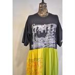 【RehersalL】Tshirt tiered onepiece /【リハーズオール】Tシャツティアードワンピース