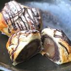 渋皮栗とつぶあんのチョコパイ(冷凍発送)